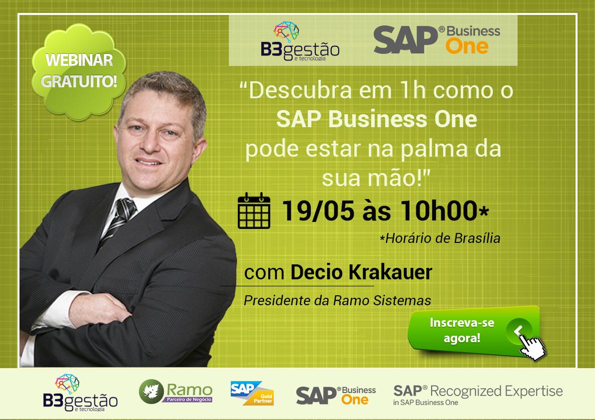 Webinar Gratuito – SAP Business One